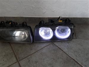 BMW Angel Eyes Headlights and Rear Lights E36