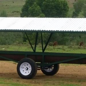 Cattle concentrate feeder