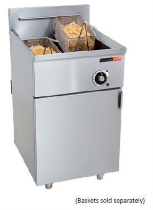 FISH FRYER ANVIL-1 x 20Lt-16.5kW-ELEC-FFA1020