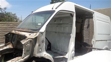 Nissan Interstar Panel Van Body with chassis and wheels