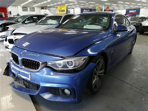 2015 BMW 4 Series 428i convertible auto Code 2