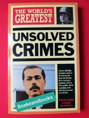 The World's Greatest Unsolved Crimes - Hamlyn.