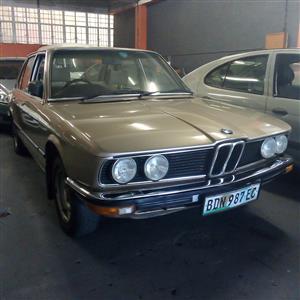 1983 BMW 5 Series 520d