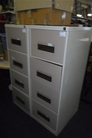 4 Drawer Steel Filing Cabinet - B033043490-2-3