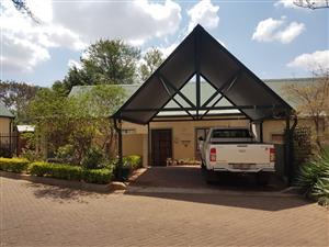 3 Bedroom House to let Wapadrand Security Estate, Marulani Lodge. Pretoria East