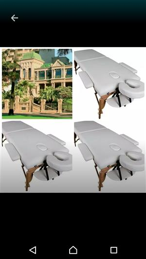 Massage beds for therapy.