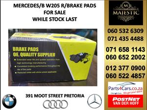 mercedes benz w205 brake pads for sale