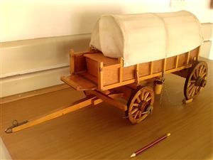 Ox wagon scale model