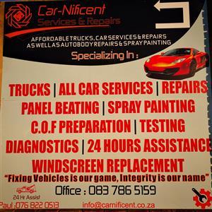 Freelance Rep for Truck, car repairs and Autobody repairs.