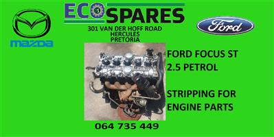 ford focus 2.5 st engine for spare parts