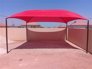 SHADE NETTING and CAR PORTS