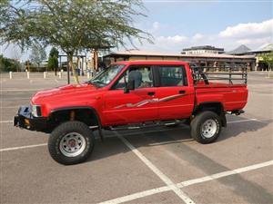 1997 Toyota Hilux double cab HILUX 4.0 V6 RAIDER 4X4 P/U D/C A/T