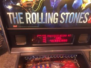 Rolling Stones Pinball Machine by Stern, available for sale on order
