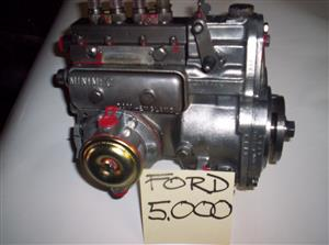 Ford 5000 re-con injection pump.