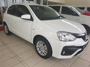 2019 Toyota Etios hatch ETIOS 1.5 Xs/SPRINT 5Dr