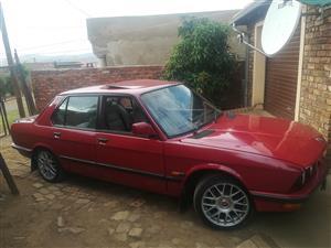 1987 BMW 5 Series 525i