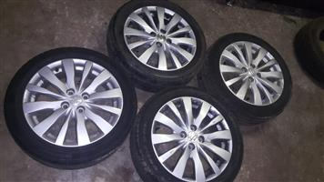 4x Suzuki Swift SE 16 Inch Rims