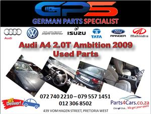 Audi A4 2.0T Ambition 2009 Used Spares for Sale