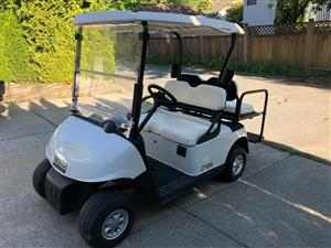 2015 EZGO RXV 48v Electric Golf Cart with flip REAR seat