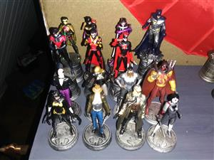 Partially complete DC chess collection.