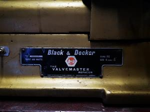 Black & Decker Valve Refacer