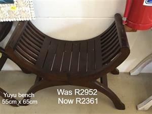 Yuyu bench for sale