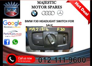 Bmw F30 headlight switch for sale