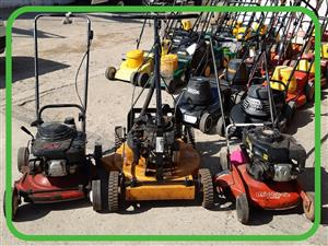 Lawn scarifier for hire - suitable for lawns upto 1000 square metres per day - rips old grass out