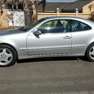 merc clk430 auto with all the bells and whistles