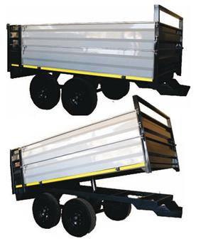 6 Ton Tip Trailer /  Tip Wa New Implement