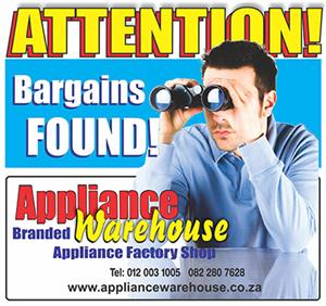 Appliance Warehouse - See our GR8 specials
