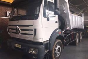Powerstar Tipper 2628K 10Cubic Meter Tipper Truck