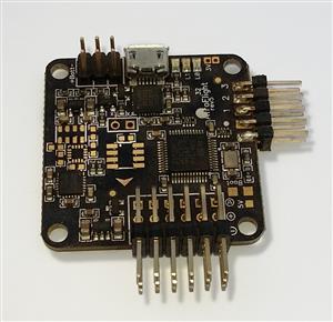 Quadcopter motors and flightcontroller