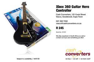 Xbox 360 Guitar Hero Controller   Junk Mail
