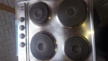 Stove top n thermofan oven