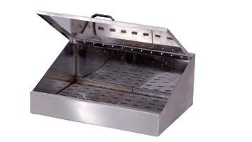 SCBG002SINGLE COVERED CHIP BIN & GRID - 730x450x250mm