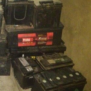 Scrap batteries wanted
