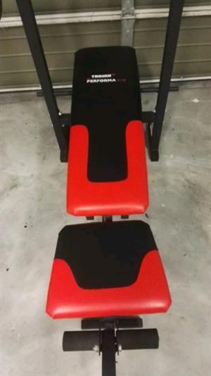 Trojan Preforma 310 Bench & 50kg Trojan Weight set