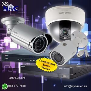 Complimentary service voucher(cameras)
