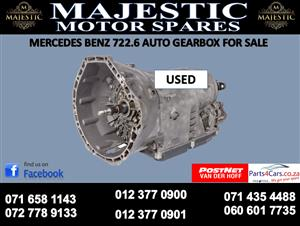 Mercedes benz 7226 auto gearbox for sale
