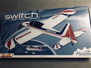 Flyzone Switch Trainer RC Plane
