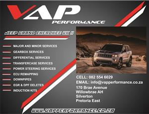 Jeep Grand Cherokee Services