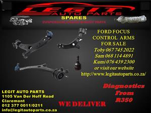 FORD FOCUS CONTROL ARMS FOR SALE