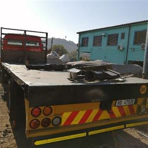 75 meters flat deck truck body for sale body in clean condition 8 ton truck