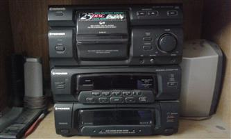 Pioneer Radio plus speakers for sale
