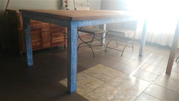 Rustic Furniture Dining Room Tables and Cabinets