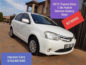 2012 Toyota Etios hatch hatch 1.5 Xi