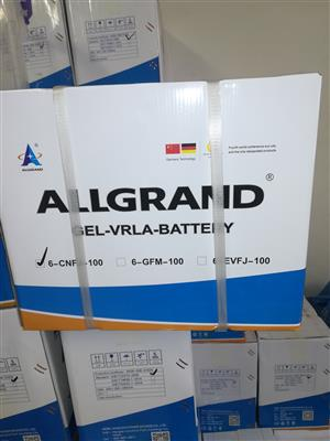 Allgrand Deep Cycle Battery For Sale