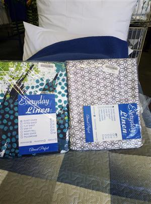 Printed single duvet covers