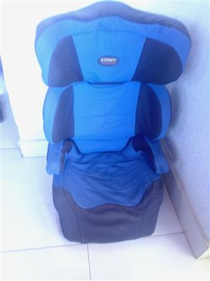 Car seat Safeway Nomad For Children from 15 to 36kg